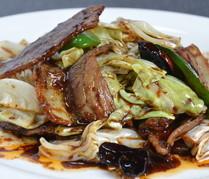 豚肉とキャベツ唐辛子味噌炒め