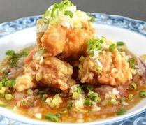 【ランチ】揚げ鶏の油淋ソース
