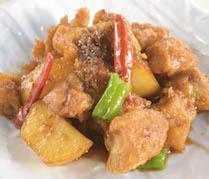 【ランチ】揚げ鶏の魚香ソース