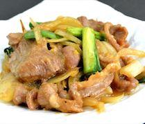 【ランチ】ラム肉と玉葱の炒め