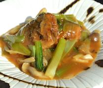 【ランチ】秋刀魚の醤油煮込み