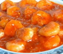 Sauteed Shrimps with Chili Sauce