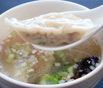 小樽地鶏餃子スープ